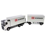 Emek Volvo FH Delivery Truck & Trailer Schenker 1:25
