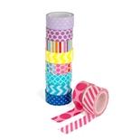 Sense Washi Tejp 10-pack Pastell
