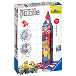 Ravensburger 3D Pussel 216 Bitar Big Ben Minion Mayhem