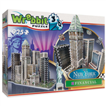 Wrebbit 3D Pussel 925 Bitar New York Collection Financial