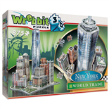 Wrebbit 3D Pussel 875 Bitar New York Collection World Trade