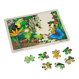 Melissa & Doug Pussel 48 Bitar Rainforest