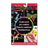 Melissa & Doug Scratch Art Combo Pack