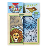 Melissa & Doug Stained Glass Made Easy Safari