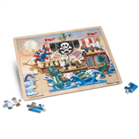Melissa & Doug Pussel 48 Bitar Pirate Adventure