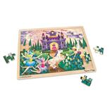 Melissa & Doug Pussel 48 Bitar Fairy Fantasy