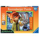 Ravensburger Pussel 100 XXL Bitar Disney Zootopia Keeping