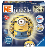 Ravensburger 3D Pussel 72 Bitar Minions Nightlight