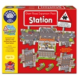 Orchard Toys Pussel 8 Bitar Giant Road Expansion Pack Statio
