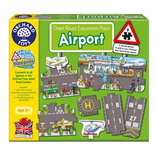 Orchard Toys Pussel 9 Bitar Giant Road Expansion Pack Airpor