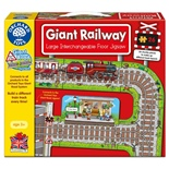 Orchard Toys Pussel 26 Bitar Giant Railway