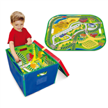 Neat-Oh Full Throttle Road & Rail Toy Box