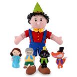 Fiesta Crafts Pinocchio Handdocka & Fingerdockor