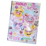 Dagbok Smiley med Lås