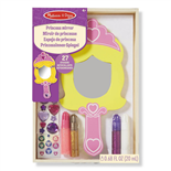 Melissa & Doug Decorate-Your-Own Princess Mirror