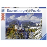 Ravensburger Pussel 3000 Bitar Neuschwanstein Castle Winter