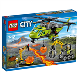 LEGO City Vulkan - Transporthelikopter