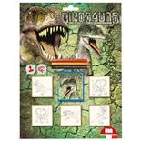 Multiprint Dinosaurier Stämpelset 5-Pack