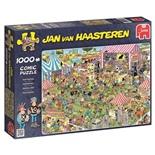 Jan van Haasteren Pussel 1000 Bitar Pop Festival