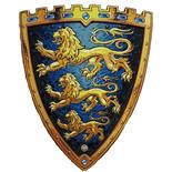 Liontouch Sköld Tre Lejon