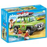 Playmobil Familjeterrängbil med Kajaker