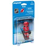 Playmobil NHL New Jersey Devils Målvakt