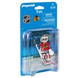 Playmobil NHL Chicago Blackhawks Målvakt