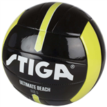 Stiga Fotboll Ultimate Beach Ball Stl 5 Svart/Lime