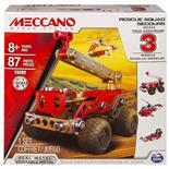Meccano 3 Model Set Rescue Squad