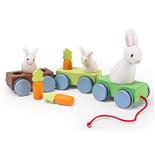 Le Toy Van Dragdjur Kanintåg