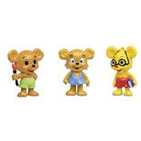 Micki Bamse Figurset Nalle-Maja, Brum & Teddy