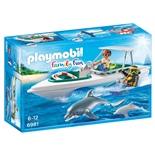 Playmobil Dyktur med Snabb Motorbåt