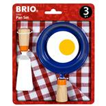 BRIO Set med Kökstillbehör Stekpanna