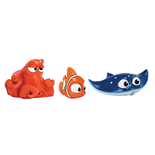 Disney Hitta Doris Bath Squirters Hank, Nemo och Mr. Ray