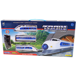 Train Auto Run Express Batteridrivet Tåg med Räls