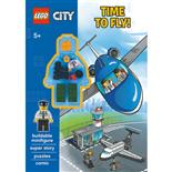 Kärnan Pysselbok LEGO City Vi Flyger!