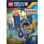 Kärnan Pysselbok LEGO Nexo Knights Kampen Kan Börja!