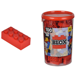 BLOX Bricks in Box Röd