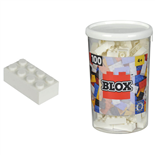 BLOX Bricks in Box Vit