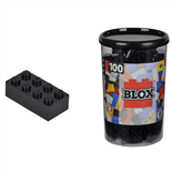 BLOX Bricks in Box Svart