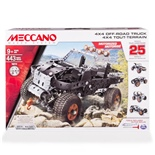 Meccano 25 Model Set 4x4 Off-Road Truck