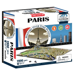 4D Cityscapes Time Puzzle Paris 1100 Bitar