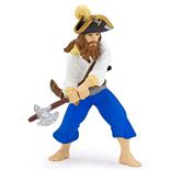 Papo Pirat med Yxa Blå
