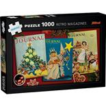 Kärnan Pussel 1000 Bitar Retro Magazines