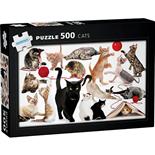 Kärnan Pussel 500 Bitar Cats