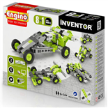 Engino Inventor 8-i-1 Cars Models
