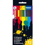 Kärnan Träfärgpennor 12-Pack