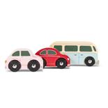 Le Toy Van Bilar i Trä Retro