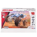 Meccano 15 Model Set Off-Road Rally