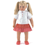 Dolls World Docka Millie 64 cm